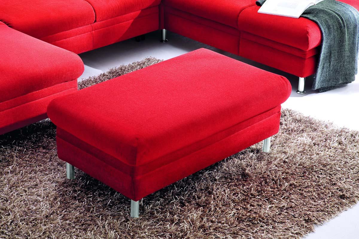 mara hockerbank easy care rosso m belhaus mwn. Black Bedroom Furniture Sets. Home Design Ideas