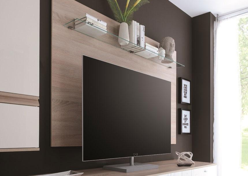 wohnwand eckelement stunning wohnwand tlg wohnzimmer sibio weiss eichefarben sgerau dunkel neu. Black Bedroom Furniture Sets. Home Design Ideas