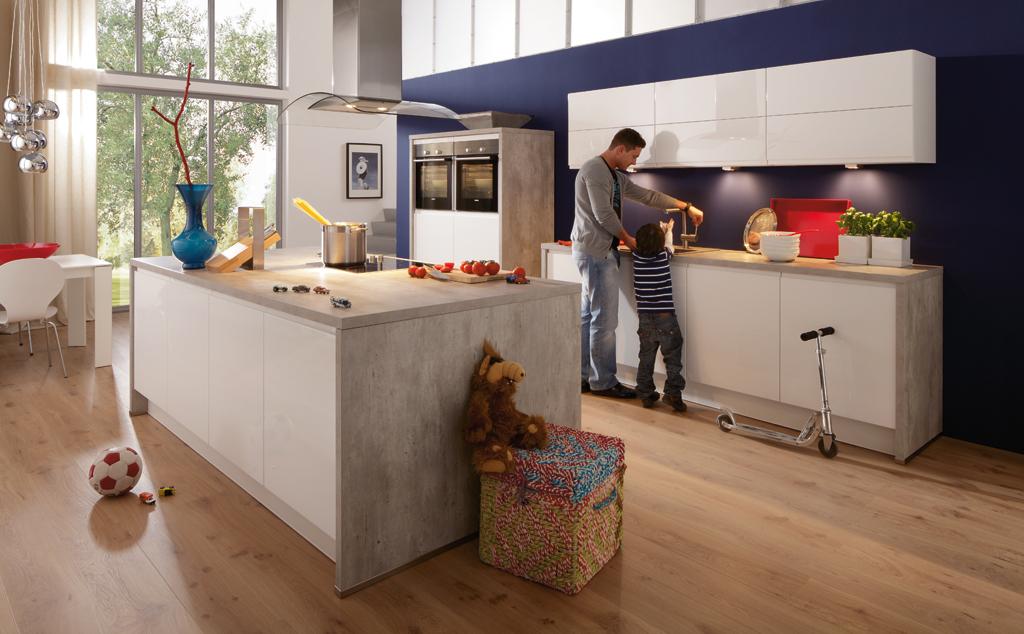 k chen die perfekte k che m belhaus mwn. Black Bedroom Furniture Sets. Home Design Ideas
